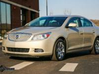Gold Mist Metallic 2010 Buick LaCrosse CXS FWD 6-Speed
