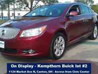 2010 Buick LaCrosse Sedan CXL Our Location is: