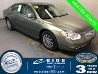 2010 Buick Lucerne CXL-3 Highlighted with SiriusXM
