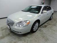 Options:  2010 Buick Lucerne Super|White|Northstar 4.6L