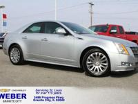 Recent Arrival! Radiant Silver Cadillac CTS  Odometer