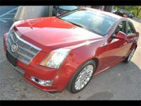 2010 CADILLAC CTS 4 - ALL WHEEL DRIVE - CRYSTAL RED
