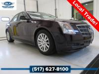 2010 Cadillac CTS Luxury in Black Cherry Vehicle