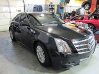 BEAUTIFUL ONE-OWNER, JUST OFF LEASE, 2010 CADILLAC CTS
