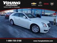 This Cadillac is Certified! Features a 6-year/100,000