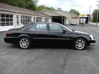 2010 Cadillac DTS Platinum with 62,000 miles. Black