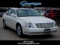 Options:  2010 Cadillac Dts With 1Sd|White/|V8 4.6L