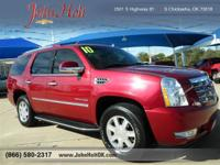 PREMIUM & KEY FEATURES ON THIS 2010 Cadillac Escalade