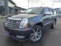 Options:  2010 Cadillac Escalade Premium|Gray|3.42 Rear