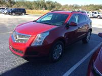 This 2010 Cadillac SRX in Crystal Red Tintcoat
