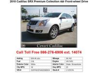 LUXURY COLLECTION CADILLAC SRX SPORT UTILITY VEHICLE.