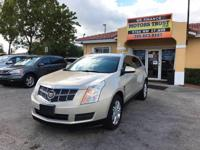 Options:  2010 Cadillac Srx Luxury Collection Awd 4Dr