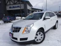 Options:  2010 Cadillac Srx Luxury|White|Clean Carfax.