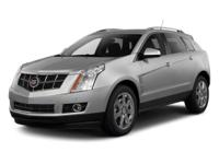 2010 Cadillac SRX Luxury Vehicle Highlights Include...,