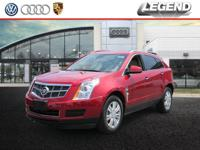 Recent Arrival! 2010 Cadillac SRX Luxury Crystal Red