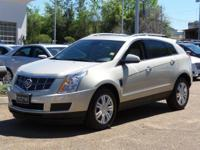 Options:  2010 Cadillac Srx Luxury Collection|Silver
