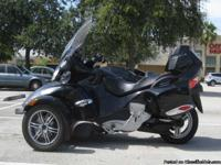 2010 Can-Am Spyder RT SM5 Premiere Edition