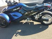 I have up for auction a 2010 CAN-AM SPYDER RS model,