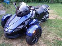 CAN-AM SPYDER RS model, body ex, rotax 990, 5 speed