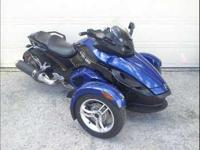 2010 Can Am Spyder RS. This powersport currently has