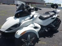 2010 Can Am Spyder RSS Rotax 990, 16,609 odometer