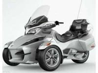 the Can-Am Spyder RT Audio and Convenience model was