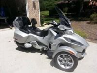2010 Can Am Spyder RT Limited Trike Excellent Condition