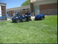 2010 Can-Am Spyder RTS and matching TrailerOrbital