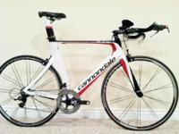 For sale: 2010 Cannondale Slice Hi-Mod size 58cm time