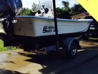 This 2010 Carolina Skiff JVX16 is the perfect choice