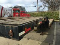 Equipment Trailers Lowboy Trailers 5888 PSN . 2010