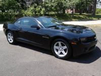 This double black 2010 Chevrolet Camaro LT is a
