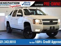 New Price! White 2010 Chevrolet Avalanche 1500 LT LT1