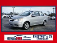 2010 Chevrolet Aveo LS in Cosmic Silver with Charcoal