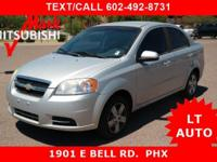 ** SUPER LITTLE SILVER AVEO ** LT w/1LT TRIM **