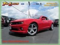 This 2010 CHEVROLET CAMARO SS is a ONE OWNER vehicle
