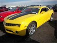 GM Certified, 6-Speed Manual, Black Stripe Package, and