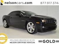 2010 Chevrolet Camaro 1SS Coupe w/ RS Package is Black