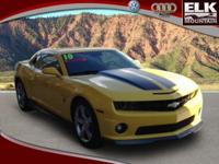 2010 Chevrolet Camaro 2dr Car 2SS Our Location is: Elk