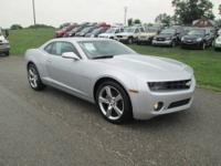 VERY CLEAN 2010 2LT/RS CAMARO WITH LEATHER! AUTOMATIC,