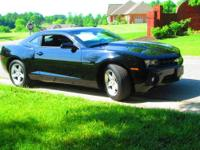 One owner non-smoker 2010 Chevrolet Camaro LT in Black