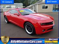 Look at this hot sporty Camaro with only 18k miles and