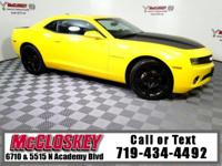 Turn heads in this 2010 Chevrolet Camaro 1LT w/ RS