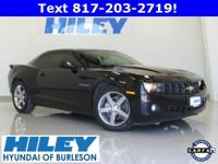 2010 Chevy Camaro LT Coupe 3.6L V6 RWD. Automatic. RS
