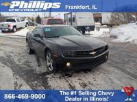 Black 2010 Chevrolet Camaro 2LT 2LT RWD 6-Speed 3.6L V6