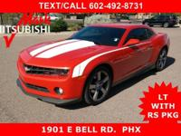 JUST ARRIVED ** AWESOME LOOKING ** CAMARO 2LT **with**