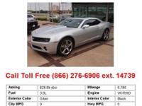 2010 Chevrolet Camaro Red SS 2dr Coupe Coupe Gas RWD V8