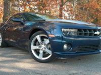 2010 Chevrolet Camaro, Imperial Blue, Accident Free