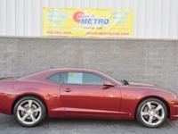 2010 Chevrolet Camaro SS  in Red Jewel Tintcoat, CLEAN