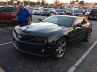 This 2010 Chevrolet Camaro in Black features. Camaro SS